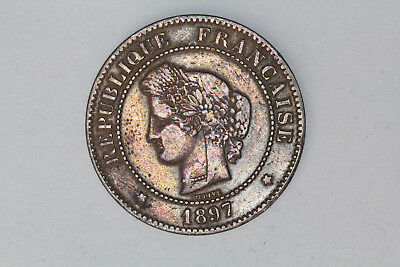 France - 5 centimes 1897 A (#39)