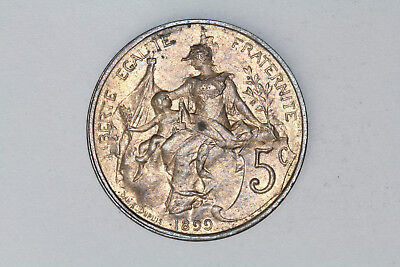 France - 5 centimes 1899 *quality* (#42)