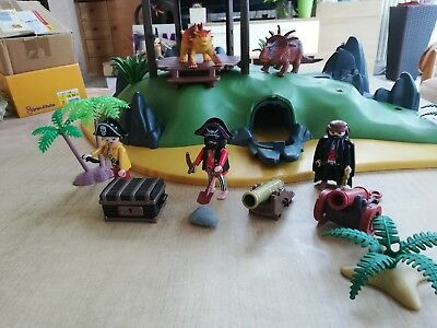 Playmobil Pirateninsel Schatzinsel 5134 Dino