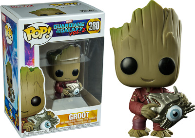 Funko POP Vinyl Figure: Guardians of the Galaxy Vol. 2 Baby Groot with Cyber Eye