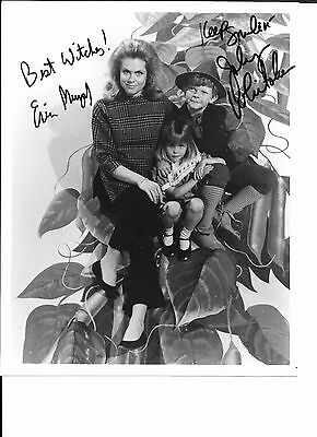 Bewitched 8x10 BW glossy cast photo signed / autographed in-person by 2