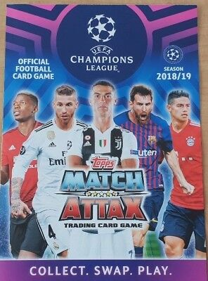 Topps Match Attax Champions League 2019 team base cards 1 - 198