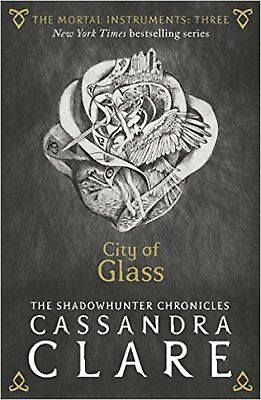 The Mortal Instruments 3: City of Glass, New, Clare, Cassandra Book