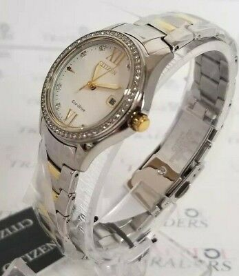Citizen FE1144-85B Women's 32mm Stainless Steel Two-Tone Quartz Watch  *NWT*