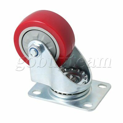 7.5cm Diameter Metal Flatbed Car Double Shaft Caster for Flatbed Trolley