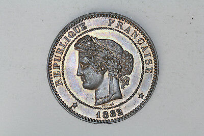 France - 10 centimes 1882 A *quality* (#73)