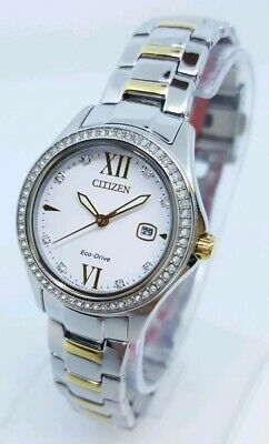 FE1144-85B Citizen Women's Quartz Stainless Steel Two-Tone Watch *SHIPS FREE*