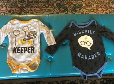 Lot Of 2 Harry Potter One Piece 6-9 Months