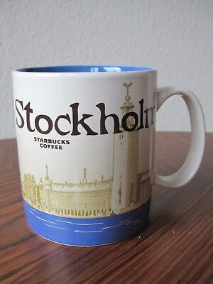 Starbucks Cty Mug Global Icon Stockholm 16oz/473ml NEU mit SKU Tasse