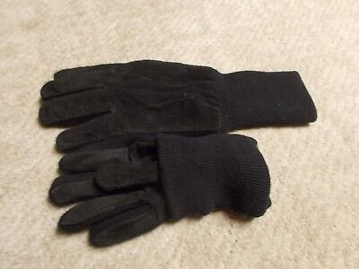 thinsulate black  dress gloves
