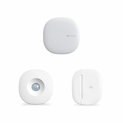 Samsung SmartThings Hub with Motion and Multipurpose Sensors .