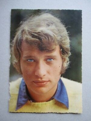 "carte postale ""Johnny Hallyday"""