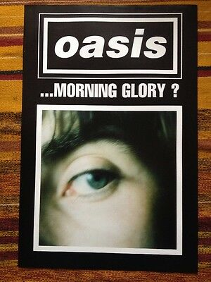Oasis - (What's The Story) Morning Glory? - Original 1995 Uk Promo Poster 2