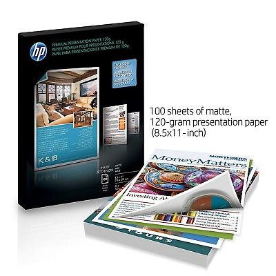 LOT OF 4 HP Premium Plus Soft Gloss Photo Paper 8 5x11, 200 sheets