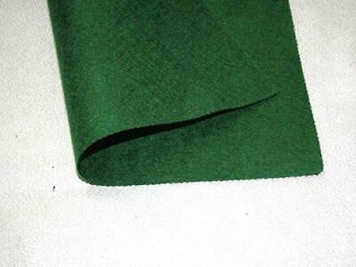 2x Self Adhesive Felt Baize Fabric Squares - Dark Green (Olive)