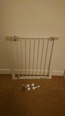 Safety 1st Metal Stair Gate, White Two Available