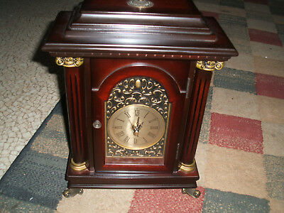 Great Bombay Co. Shelf Mantle Clock   Quartz Aa Battery Movement