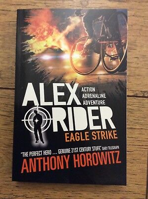 NEW - EAGLE STRIKE (Book 4) - ALEX RIDER BOOK - Anthony Horowitz NEW COVER
