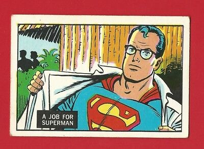 TRADE CARD - A & BC  - SUPERMAN IN THE JUNGLE 1968 - CARD No. 3  (LG01)