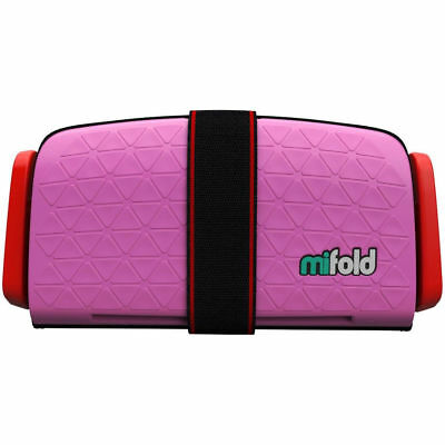 mifold Grab-and-Go Car Booster Seat, Perfect Pink NO MANUAL #2301