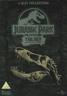 Jurassic park Trilogy Film Collection Steelbook - 3 Film - 4 Disc set