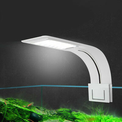 Clip on Aquarium LED Light, Fish Tank Clamp Lamp For Small Nano Tanks