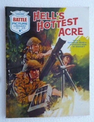 Battle  Picture Library  - HELL'S HOTTEST ACRE (No. 379) - 20 Jan 1969