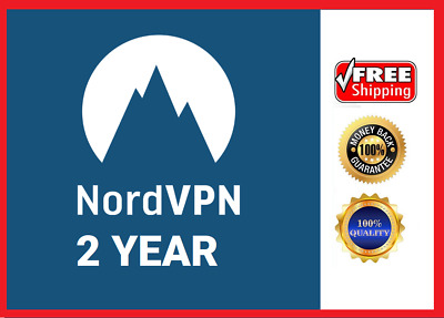 NordVPN | 2 year subscription | Lifetime warranty | Low price |