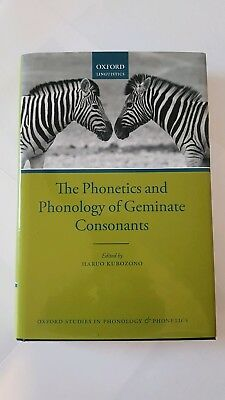 The Phonetics and Phonology of Geminate Consonants by Oxford University Press (…