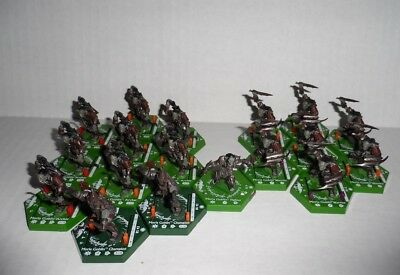 Lord Of the Rings LOTR Combat Hex Miniatures Lot #4