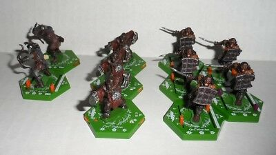 Lord Of the Rings LOTR Combat Hex Miniatures Lot #7
