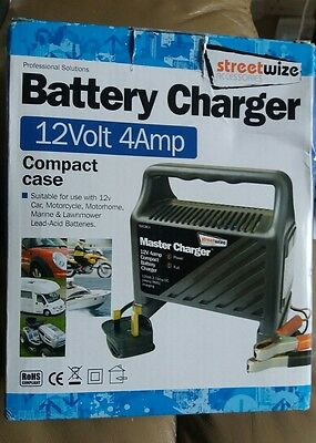 STREETWISE 12v 4A Battery Charger BNIB