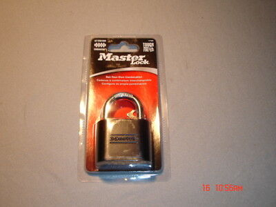 Master lock, model 178D resettable customer combination code, free ship