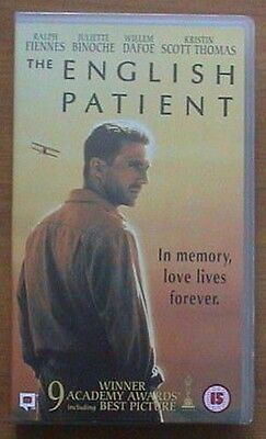 1996 The English Patient (Anthony Minghella) Ralph Fiennes (VHS) Oscars
