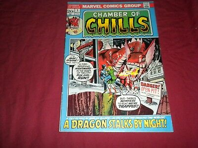 Chamber of Chills #1 marvel 1972 bronze age 5.5/fn- comic! See store for keys!!!