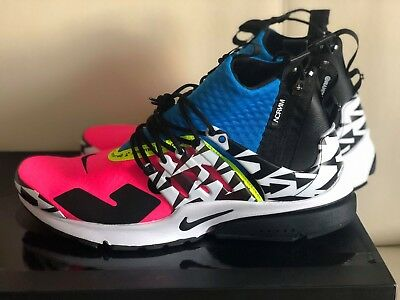 buy popular 8f687 56aa7 ACRONYM x Nike Air Presto Mid Racer Pink AH7832-600 Mens Shoes Sneakers  BrandNew