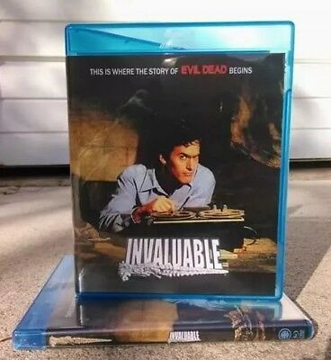 INVALUABLE. Evil Dead official Documentary Feature Film NEW 2 Disc Blu Ray.
