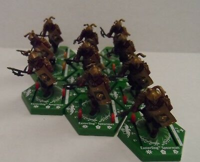 Lord Of the Rings LOTR Combat Hex Miniatures Lot #12