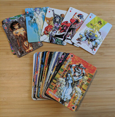 Shirow Masamune Ghost in the Shell Playing Cards never played in case