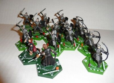 Lord Of the Rings LOTR Combat Hex Miniatures Lot #15