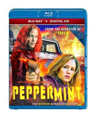 Peppermint 2018 - Jennifer Garner - ( Blu-Ray + Digital Hd ) - Region Free