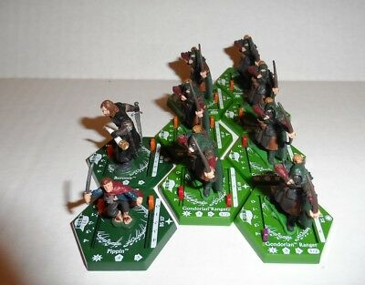 Lord Of the Rings LOTR Combat Hex Miniatures Lot #16