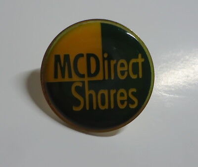 McDonald's Pin - MCDirect Shares / MC Direct - 25mm - McDonald / McDonalds