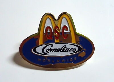 McDonald's Pin - QSC Cornelius Worldwide - 28mm - McDonald / McDonalds