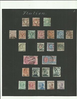 Italy early period stamps vintage lot 5