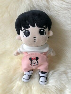 Handmade Kpop EXO BTS Doll Clothes Rompers Plush Doll Costume Wear Pants 20cm
