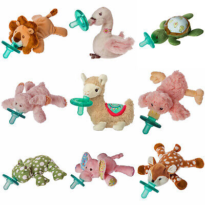 Wubbanub Soft Plush Toy and Infant Pacifier by Mary Meyer ~ Select Your Favorite