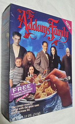 "1991 Vintage Ralston ""Addams Family"" Cereal Box, RARE!"