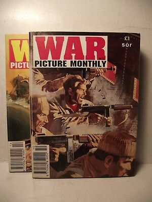 WAR PICTURE MONTHLY No 10 & 14