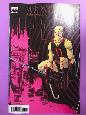 Man Without Fear 2B Connecting Variant NM Camuncoli 2018 New Marvel Comics